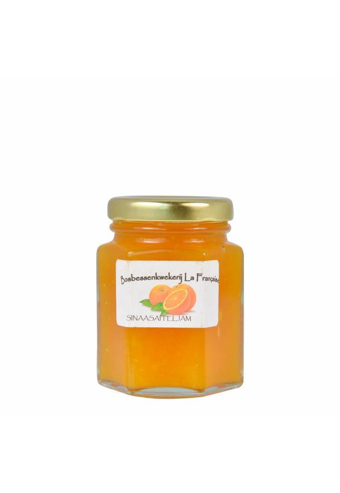 Bosbessenkwekerij La Française Sinaasappel jam La Française (325 gram)