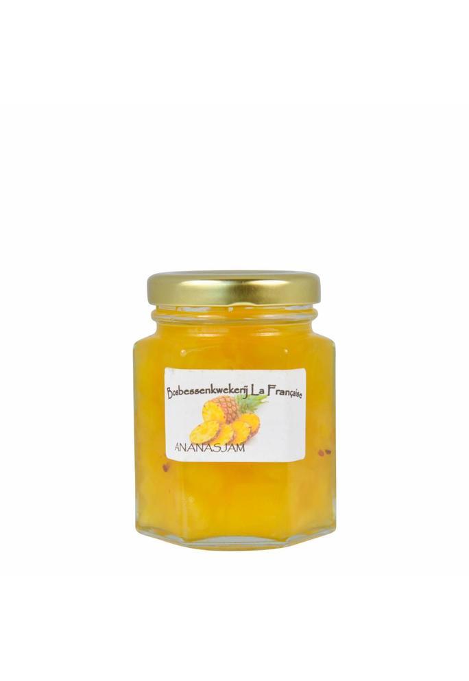 Bosbessenkwekerij La Française 2-Ananas jam La Française (50 gram, 135 gram of 325 gram)