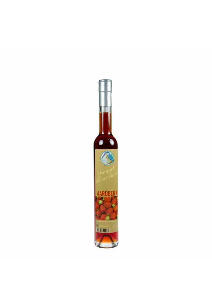 Graanbranderij De IJsvogel Fruit Genot aardbeien likorette De IJsvogel 350 ml