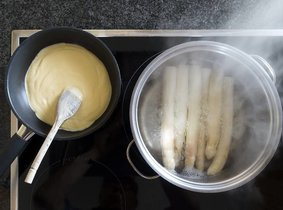 Vorstelijke asperge sauzen