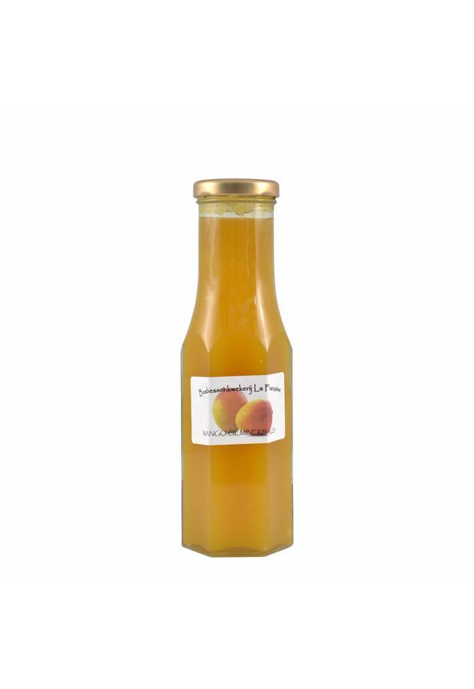 Bosbessenkwekerij La Française Mango-gembersaus La Française 250 ml