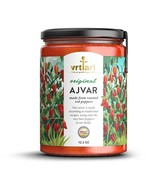 2-Servische Ajvar,  geroosterde paprika 350 Gram