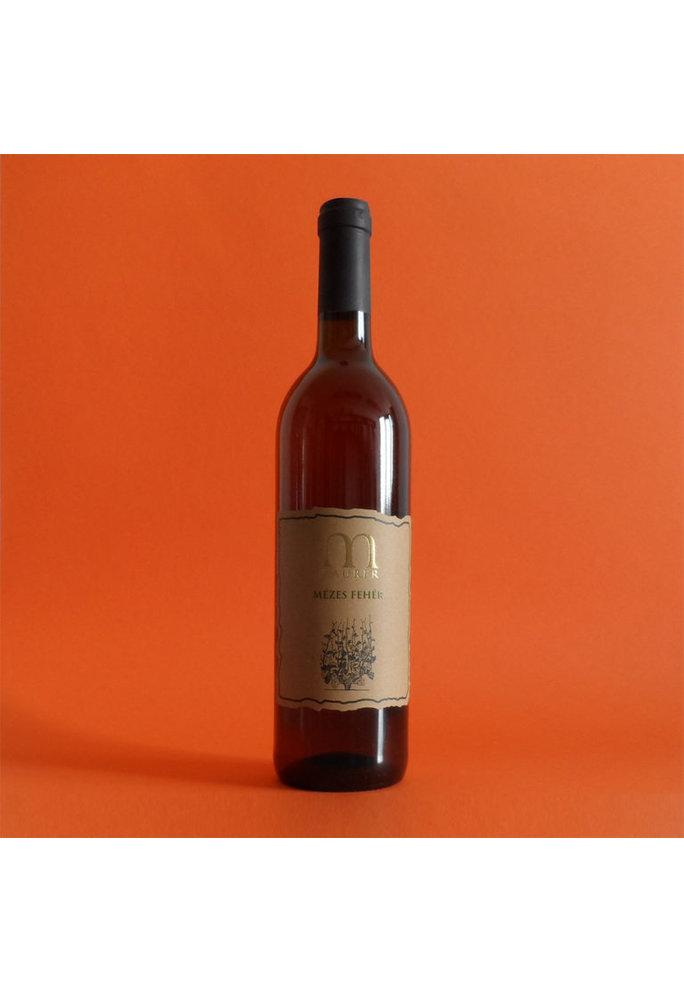 Maurer Wines Servische Mezes Feher 2016 -  orange wine, Alc 13,5%