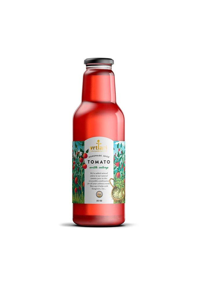 Vrtlari 2-Servische Homemade Tomatensap met Selderij, 750ML