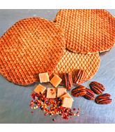 Opstroopwafel-Pecan  / Fudge / Chili
