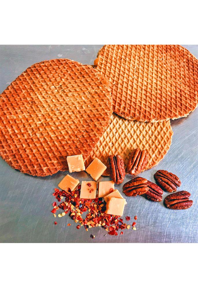 Opstroopwafel Opstroopwafel-Pecan  / Fudge / Chili
