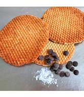 Opstroopwafel - Chocolade / Zeezout