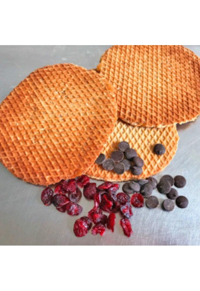 Opstroopwafel Opstroopwafel - Cranberry / Chocolade