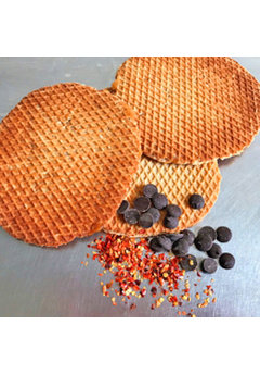 Opstroopwafel Opstroopwafel - Chocolade / Chili
