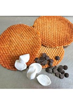 Opstroopwafel Opstroopwafel - Marshmello / Chocolade