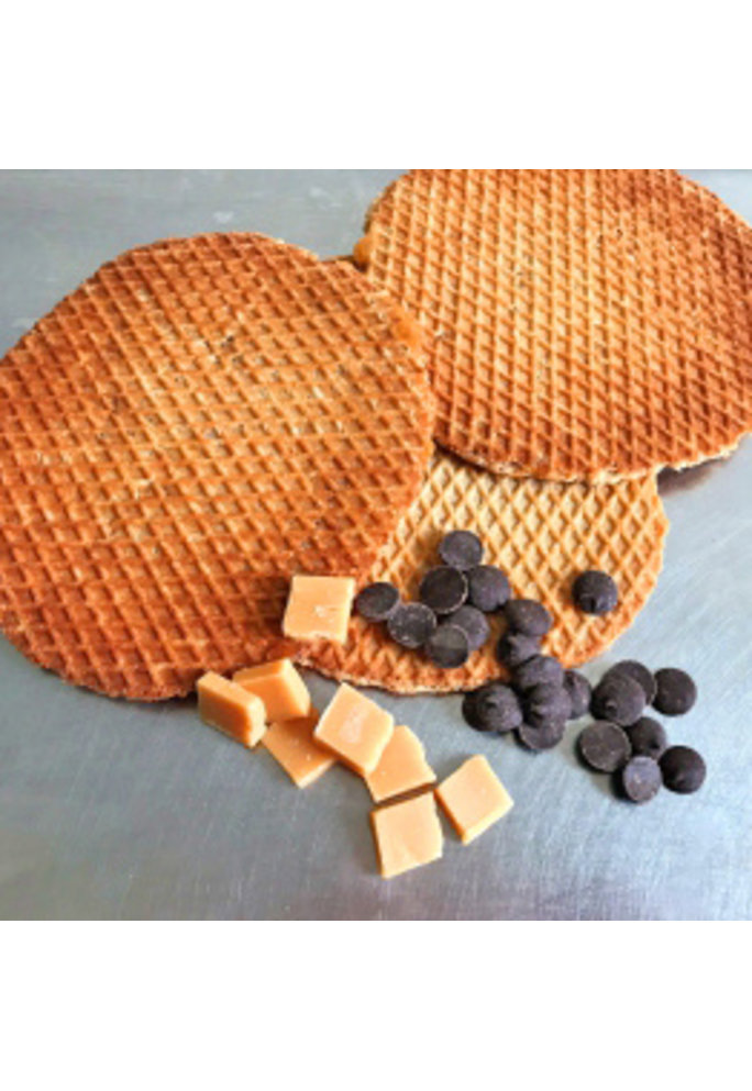 Opstroopwafel Opstroopwafel - Fudge / Chocolade