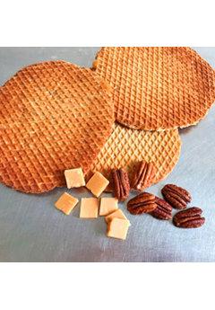 Opstroopwafel Opstroopwafel - Pecan / Fudge