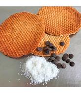 Opstroopwafel - Kokos / Chocolade