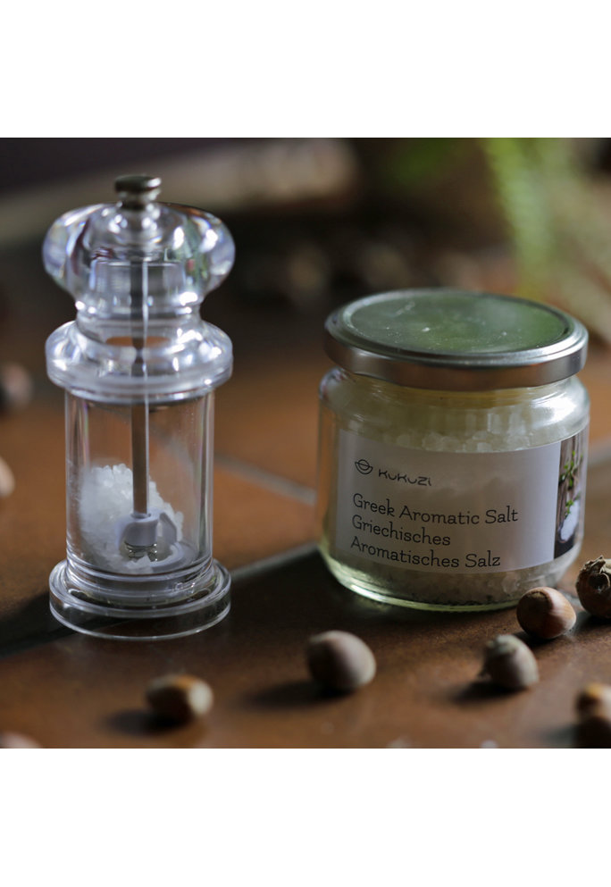 Kukuzi Grieks aromatisch zout, 400 gram
