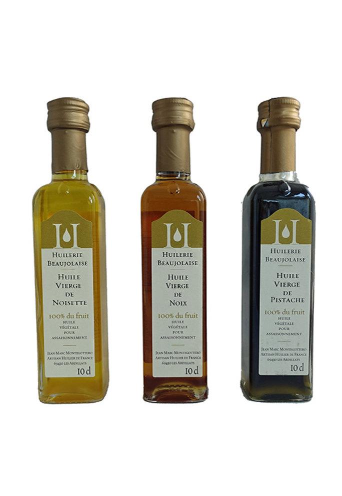 Olives & More Huilerie Beaujolais notenolie proeverij, 3x 100ml