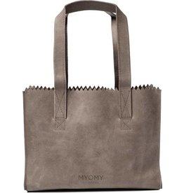 MYOMY MY PAPER BAG Handbag - taupe