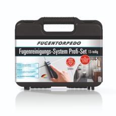 Fugentorpedo Reinigungswerkzeug Profi-Koffer 13 tlg.