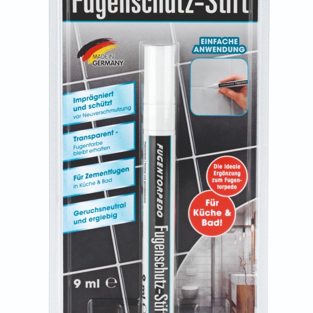 Fugentorpedo FUGENTORPEDO Fugenschutzstift - 9 ml Schutzflüssigkeit