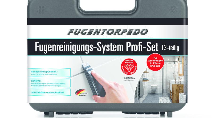 Mit Profi Koffer von Fugentorpedo Fugen reinigen