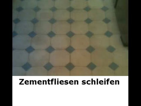 Zementfliesen reinigen und sanieren im Ruhrgebiet