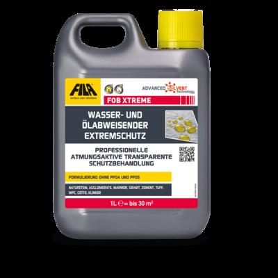 FOB für saugende Oberflächen (Fleckenschutzmittel für Beläge aus Cotto, Klinker, Marmor, Naturstein, Granit, Agglomerat und Zement)