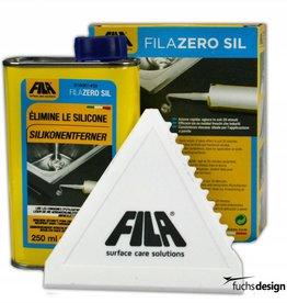 FILA ZERO SIL (Entfernt Reste und Rückstände von Silikon, Kleber, Klebeband, alten Aufklebern und Polyurethanschaum)