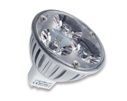 Aigostar LED MR16 4x1W 3000K