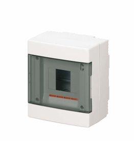 EC elettrocanali EC Opbouwkast  4 modules IP40 wit