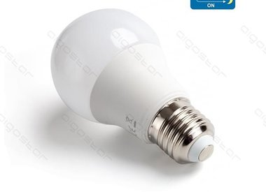 LED with motion detector