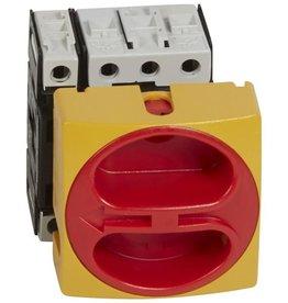 LEGRAND Complete lastschakelaar inbouw vergrendelbaar - 4p + nulleider - 32 A