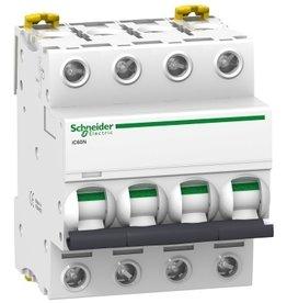 Schneider Automaat iC60N 4P 20A C 6kA