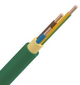 Installatiekabel 3G1,5mm² XGB Rol 100m installatiekabel XLPE/LS0H 1kV Cca s1d2a1 groen