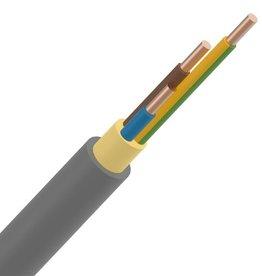 INSTALLATIEKABE 4G4mm² rol 50m XVB installatiekabel XLPE/PVC 1kV Cca s3d2a3 grijs