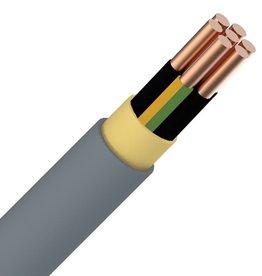 Installatiekabel 7G1,5mm² rol 100m XVB installatiekabel XLPE/PVC 1kV multi Cca s3d2a3 grijs