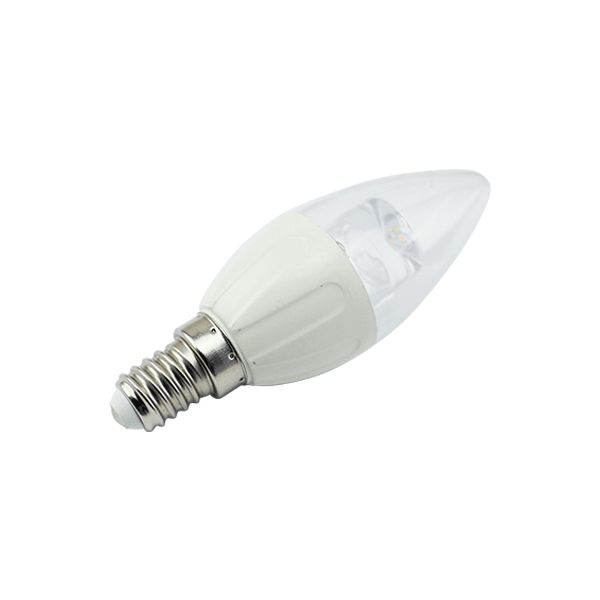 Aigostar LED C5 C35 E14 4W 6400K WITH LIGHT PIPE