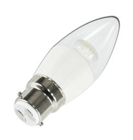Aigostar LED C5 C35 B22 4W 3000K WITH LIGHT PIPE