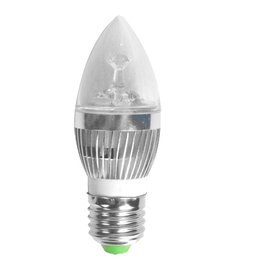 Aigostar LED kaars  E27 3W 6000K transparant