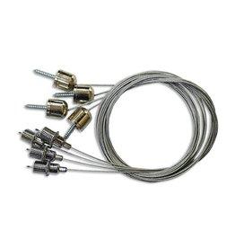 Aigostar Ophanging kit voor LED Paneel (4 metalen draden + haken)