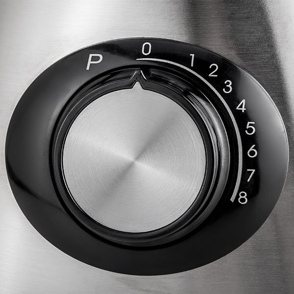 Aigostar Blender 600W 1500ml Black Silver