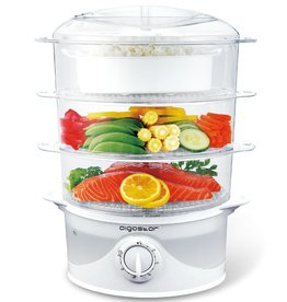 Aigostar Food Steamer 800W Plastic White