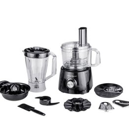 Aigostar Food Processor 800W Black Silver
