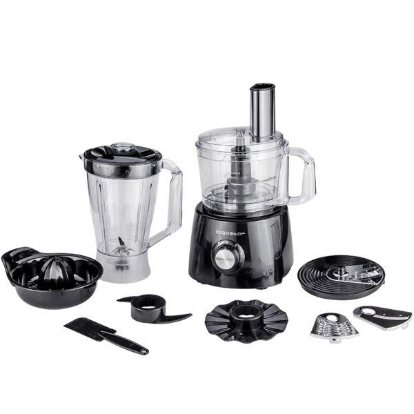 Aigostar Food Processor 800W Black Silver