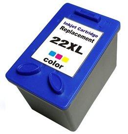 PrintLightDirect 22 XL CMY (C9352A) Cyaan Magenta Geel (HP)