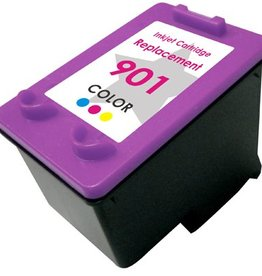 PrintLightDirect 901 XL CMY (CC656A) Cyan Magenta Yellow (HP)