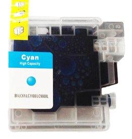 PrintLightDirect LC-980 XL C Cyaan (Brother)