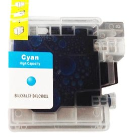 PrintLightDirect LC-980 XL C Cyan (Brother)