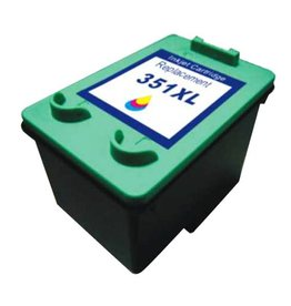 PrintLightDirect 351 XL CMY (CB338E) Cyaan Magenta Geel (HP)