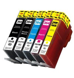 PrintLightDirect 364 XL PBK (CB322E) Pigment Zwart (HP)