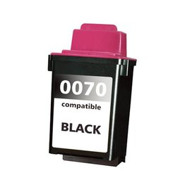 PrintLightDirect 12A1970 BK (Nr.70)  Zwart (Lexmark)