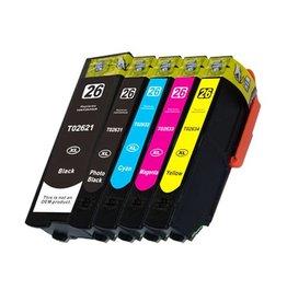 PrintLightDirect T2632XL C Cyaan (Epson)